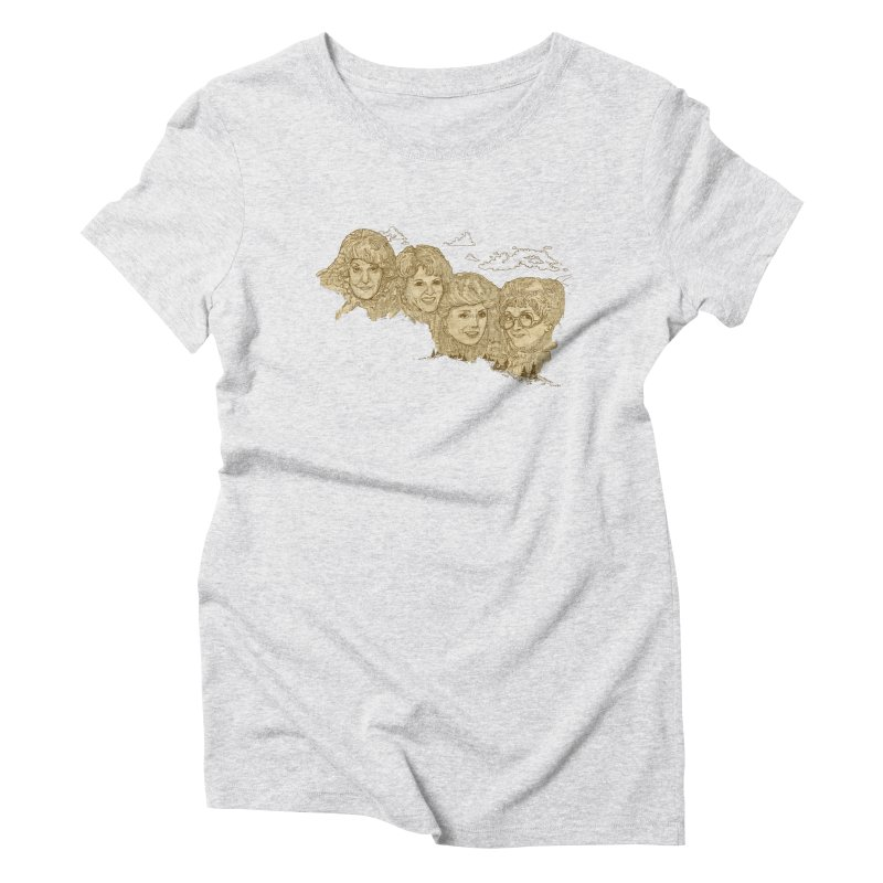 Mt Golden Girls Women's Triblend T-Shirt by Taylor's Internet Country Store