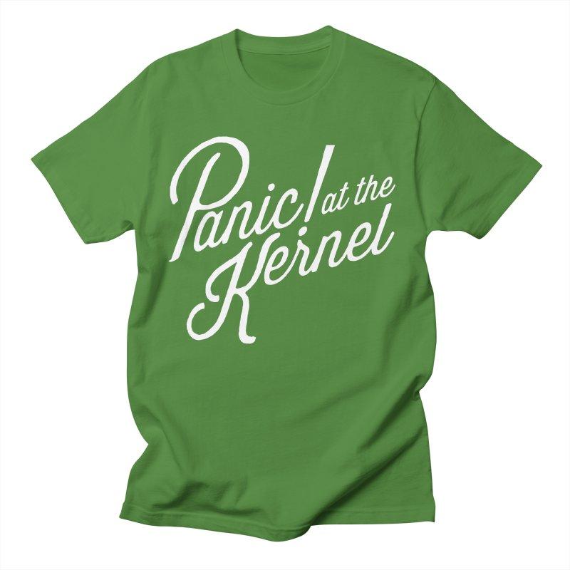 Panic! at the Kernel Men's Regular T-Shirt by Interrupt Designs