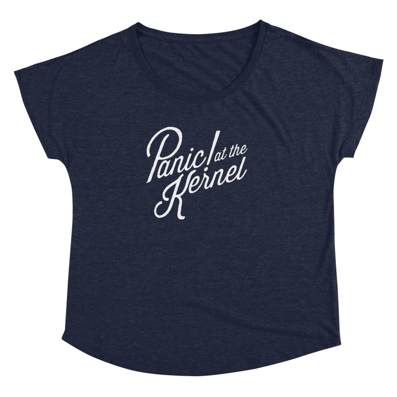 Panic! at the Kernel Women's Scoop Neck by Interrupt Designs