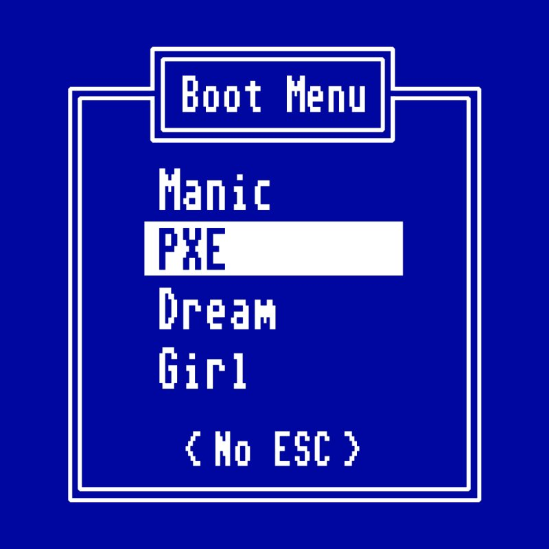 Manic PXE Dream Girl None  by Interrupt Designs