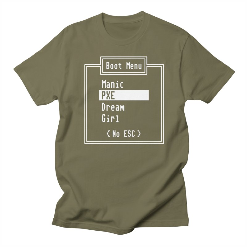 Manic PXE Dream Girl Men's T-Shirt by Interrupt Designs