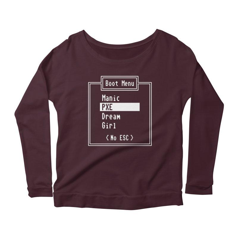 Manic PXE Dream Girl Women's Scoop Neck Longsleeve T-Shirt by Interrupt Designs