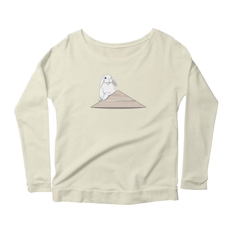 You Forgot Dis Women's Scoop Neck Longsleeve T-Shirt by In the Year of the Rabbit Shop