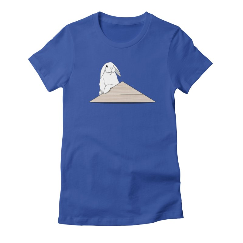 You Forgot Dis Women's Fitted T-Shirt by In the Year of the Rabbit Shop