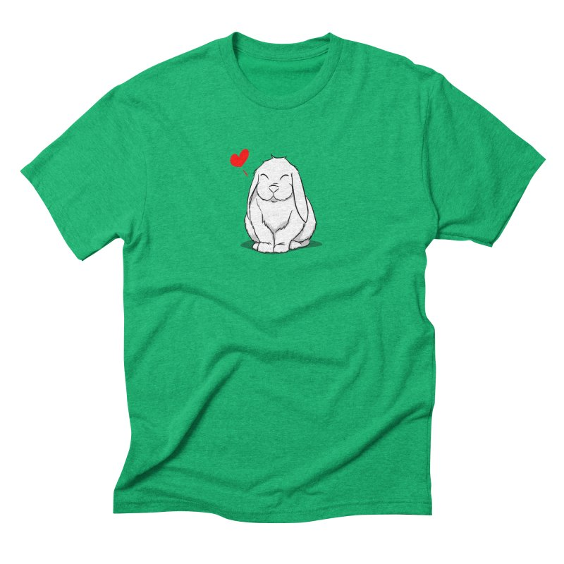 Love Bun Men's Triblend T-Shirt by In the Year of the Rabbit Shop