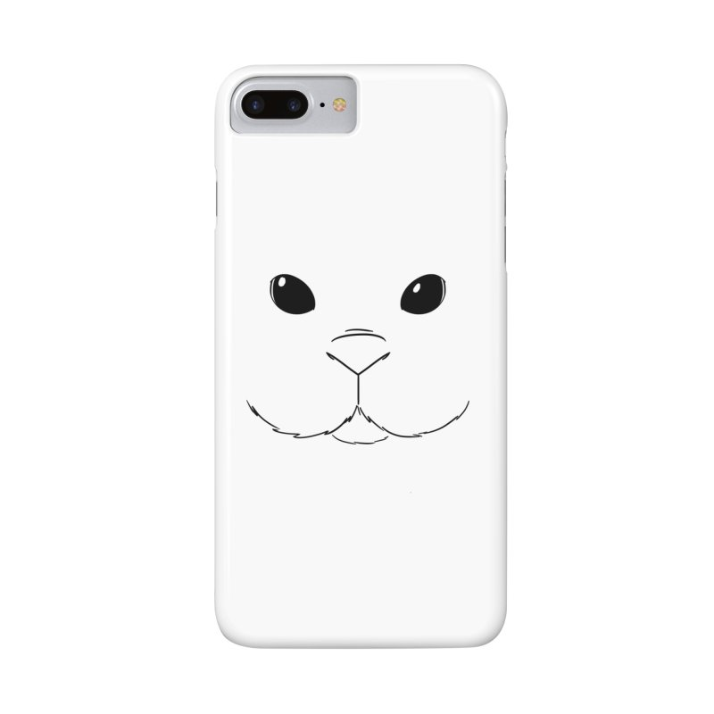 Bunnyphone! in iPhone 8 Plus Phone Case Slim by In the Year of the Rabbit Shop