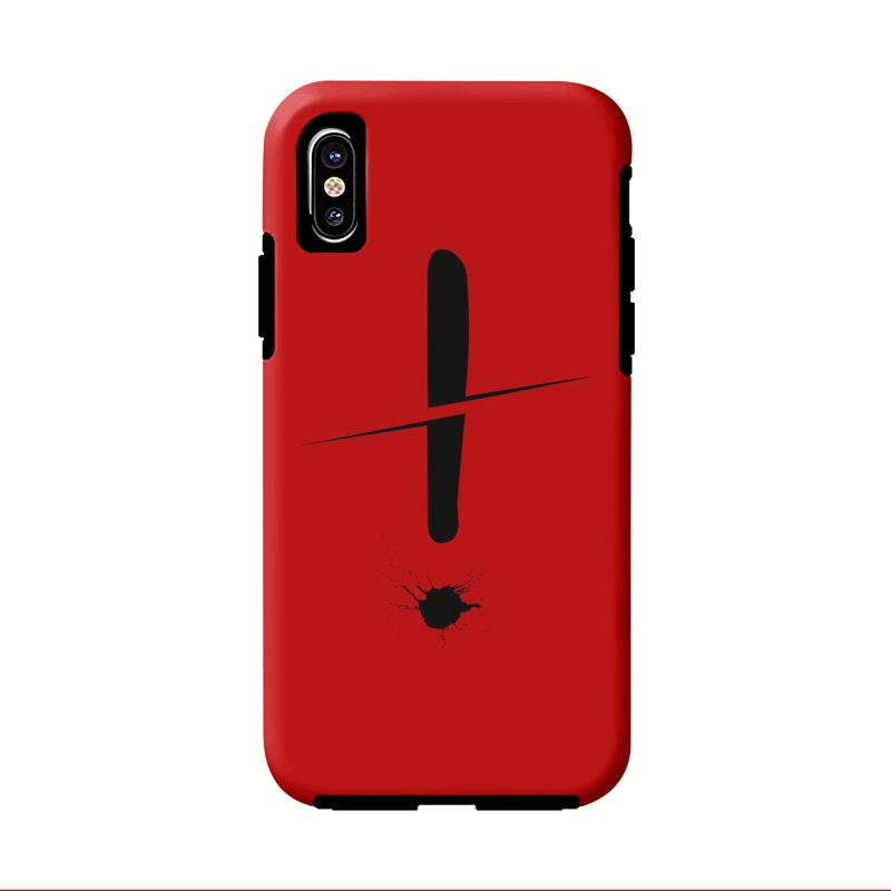Surprise! in iPhone X / XS Phone Case Tough by In the Year of the Rabbit Shop