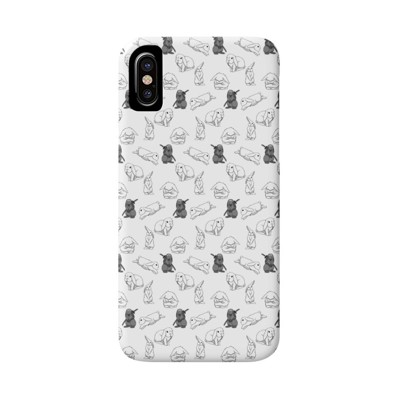 Bunny Pattern Accessories Phone Case by In the Year of the Rabbit Shop