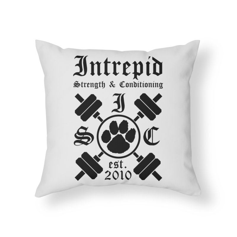 Intrepid Home Throw Pillow by Intrepid CF Warwick's Artist Shop