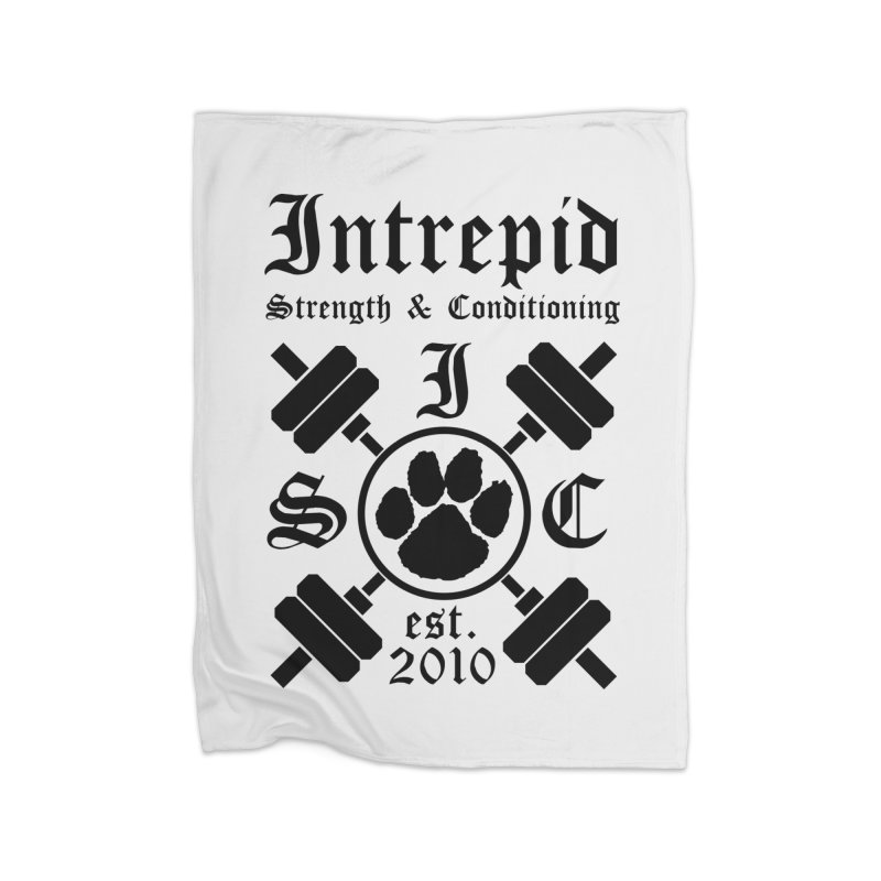 Intrepid Home Fleece Blanket Blanket by Intrepid CF Warwick's Artist Shop