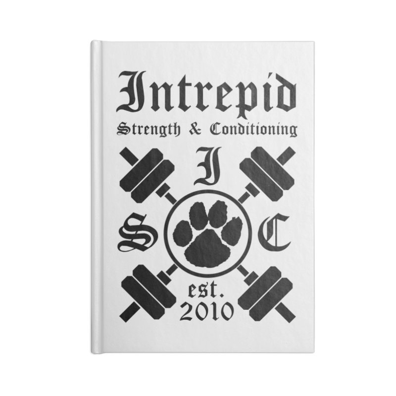 Intrepid Accessories Lined Journal Notebook by Intrepid CF Warwick's Artist Shop