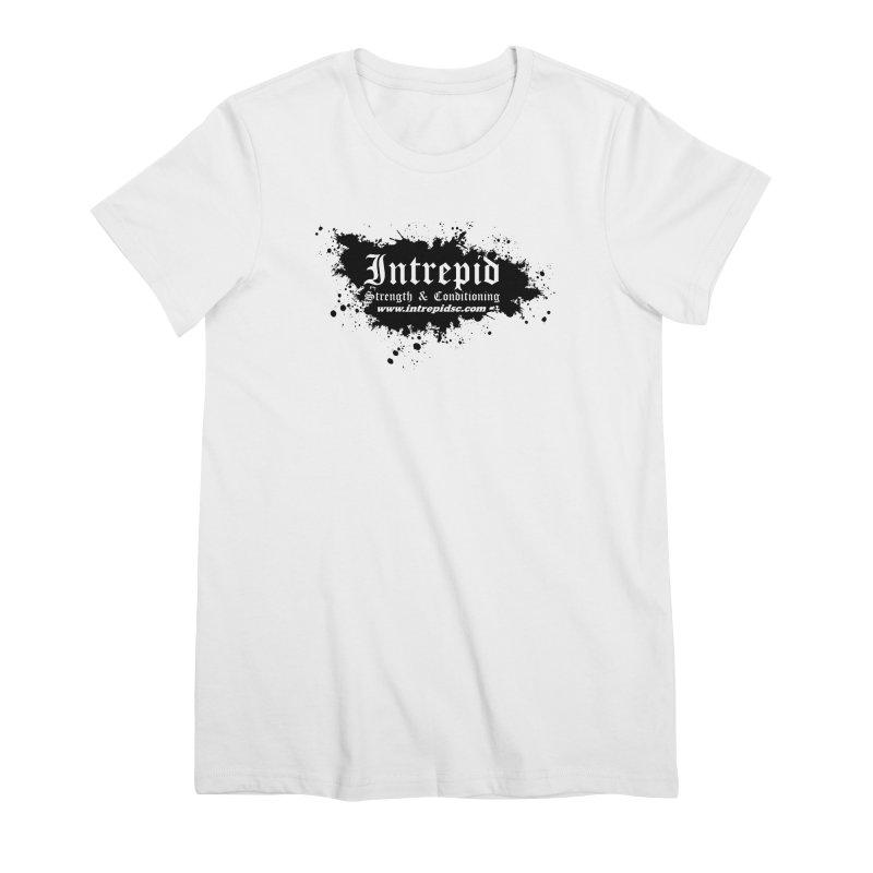 Intrepid Splatter Women's Premium T-Shirt by intrepidcfwarwick's Artist Shop