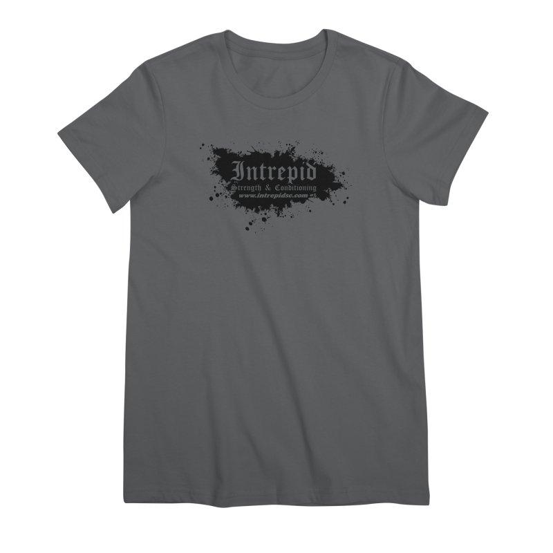 Intrepid Splatter Women's Premium T-Shirt by Intrepid CF Warwick's Artist Shop