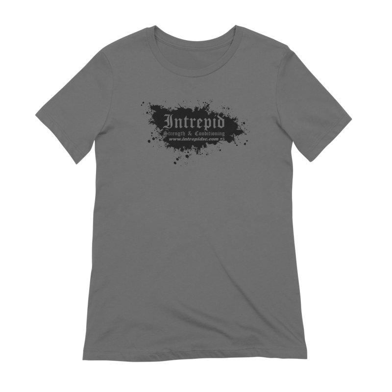Intrepid Splatter Women's Extra Soft T-Shirt by Intrepid CF Warwick's Artist Shop