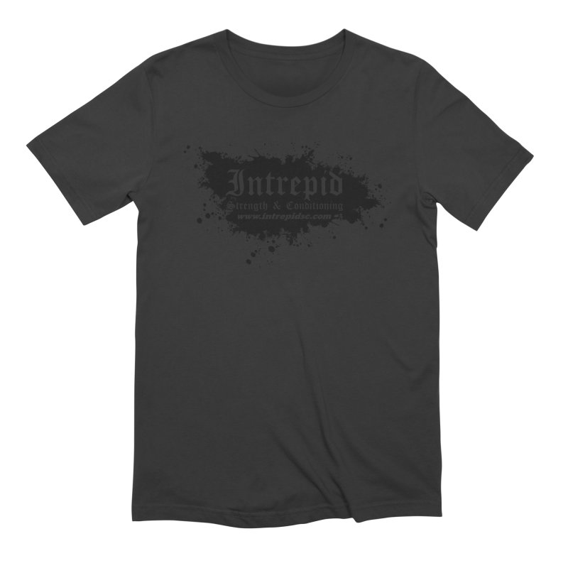 Intrepid Splatter Men's Extra Soft T-Shirt by Intrepid CF Warwick's Artist Shop