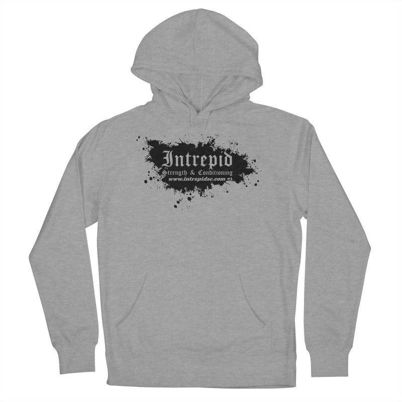 Intrepid Splatter Women's French Terry Pullover Hoody by Intrepid CF Warwick's Artist Shop