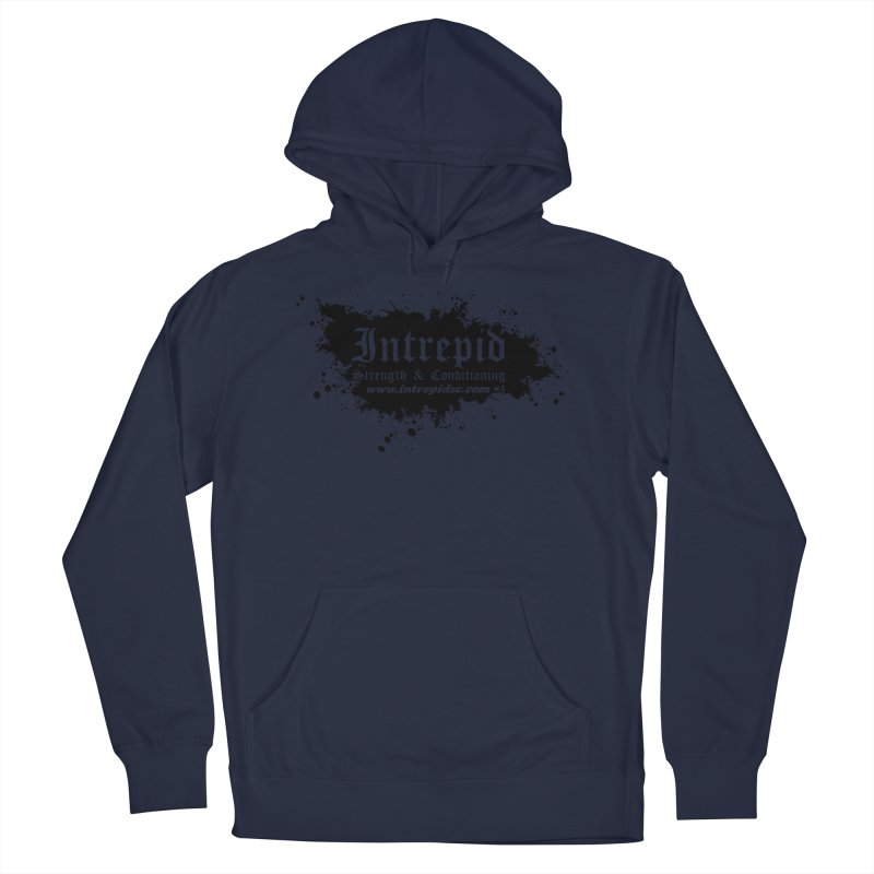 Intrepid Splatter Men's Pullover Hoody by Intrepid CF Warwick's Artist Shop
