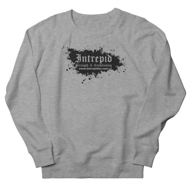 Intrepid Splatter Men's French Terry Sweatshirt by Intrepid CF Warwick's Artist Shop