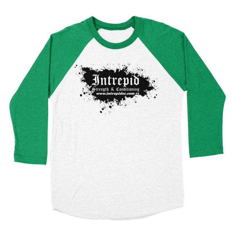 Intrepid Splatter Women's Baseball Triblend Longsleeve T-Shirt by intrepidcfwarwick's Artist Shop