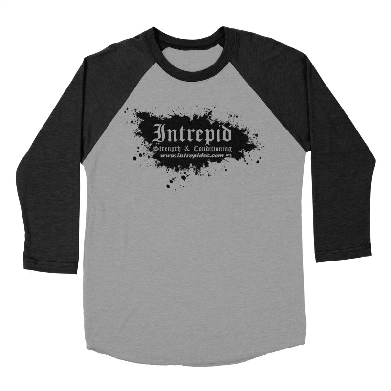 Intrepid Splatter Women's Baseball Triblend Longsleeve T-Shirt by Intrepid CF Warwick's Artist Shop