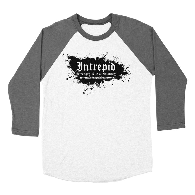 Intrepid Splatter Men's Baseball Triblend Longsleeve T-Shirt by Intrepid CF Warwick's Artist Shop