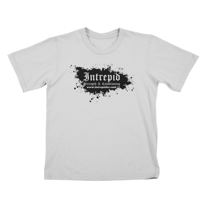Intrepid Splatter Kids T-Shirt by Intrepid CF Warwick's Artist Shop
