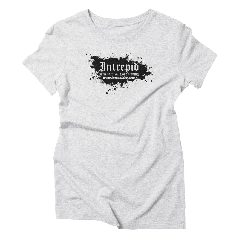 Intrepid Splatter Women's Triblend T-Shirt by Intrepid CF Warwick's Artist Shop