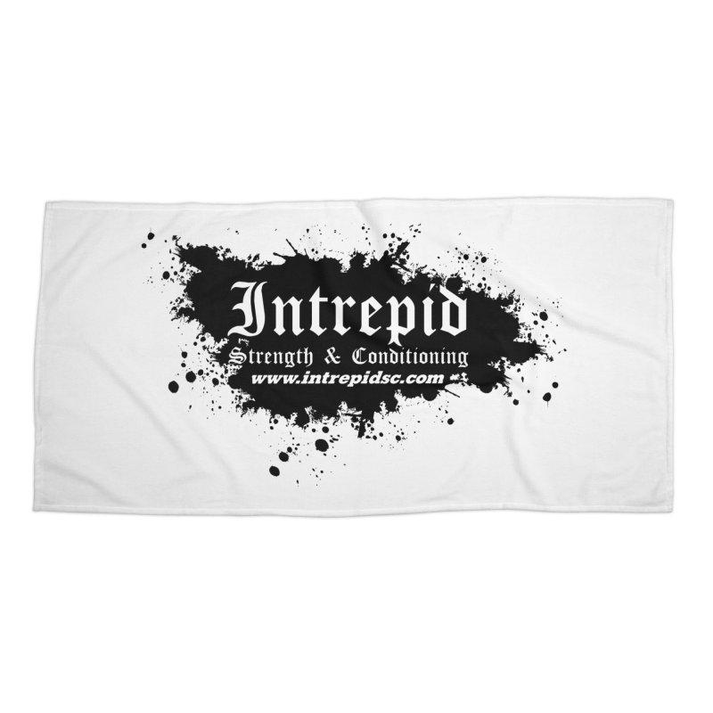 Intrepid Splatter Accessories Beach Towel by Intrepid CF Warwick's Artist Shop