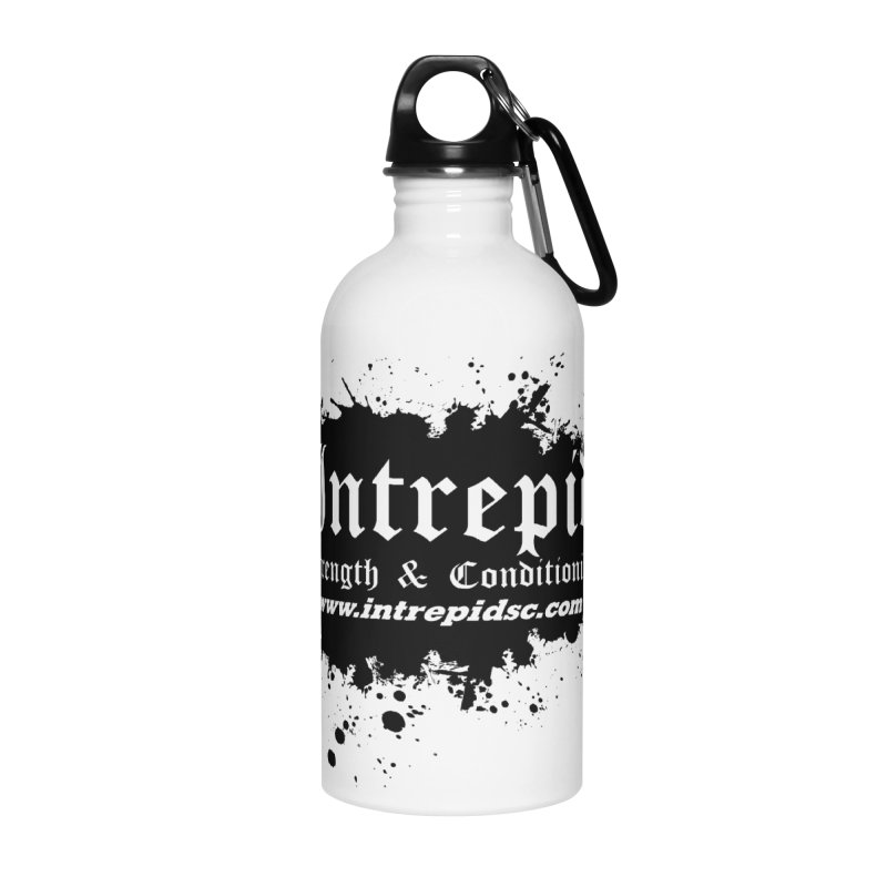 Intrepid Splatter Accessories Water Bottle by Intrepid CF Warwick's Artist Shop