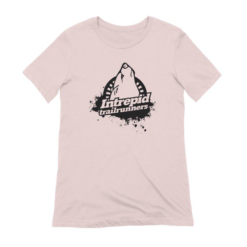 Intrepid Trail Runner Women's Extra Soft T-Shirt by Intrepid CF Warwick's Artist Shop