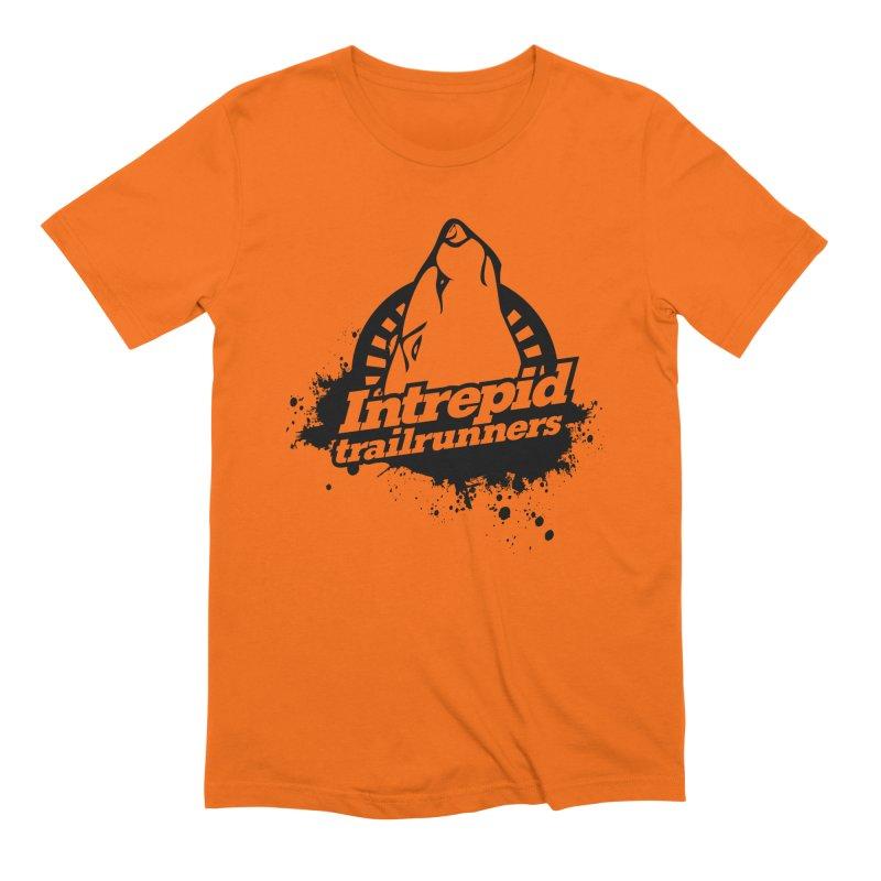 Intrepid Trail Runner Men's Extra Soft T-Shirt by Intrepid CF Warwick's Artist Shop