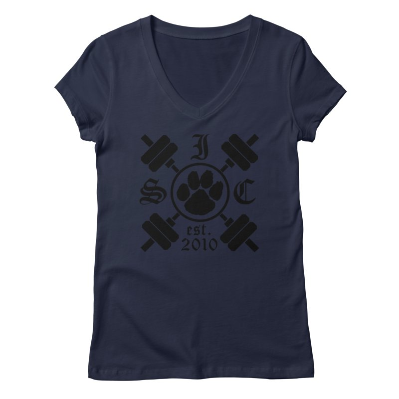 Intrepid ISC Women's Regular V-Neck by Intrepid CF Warwick's Artist Shop