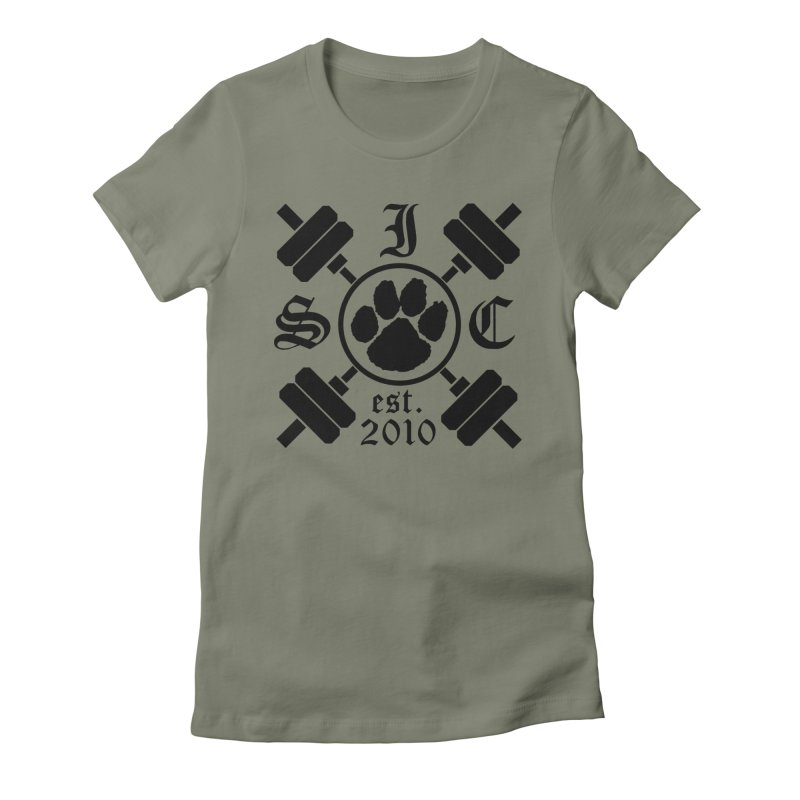 Intrepid ISC Women's Fitted T-Shirt by Intrepid CF Warwick's Artist Shop