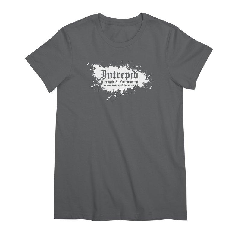 Splatter Women's T-Shirt by Intrepid CF Warwick's Artist Shop