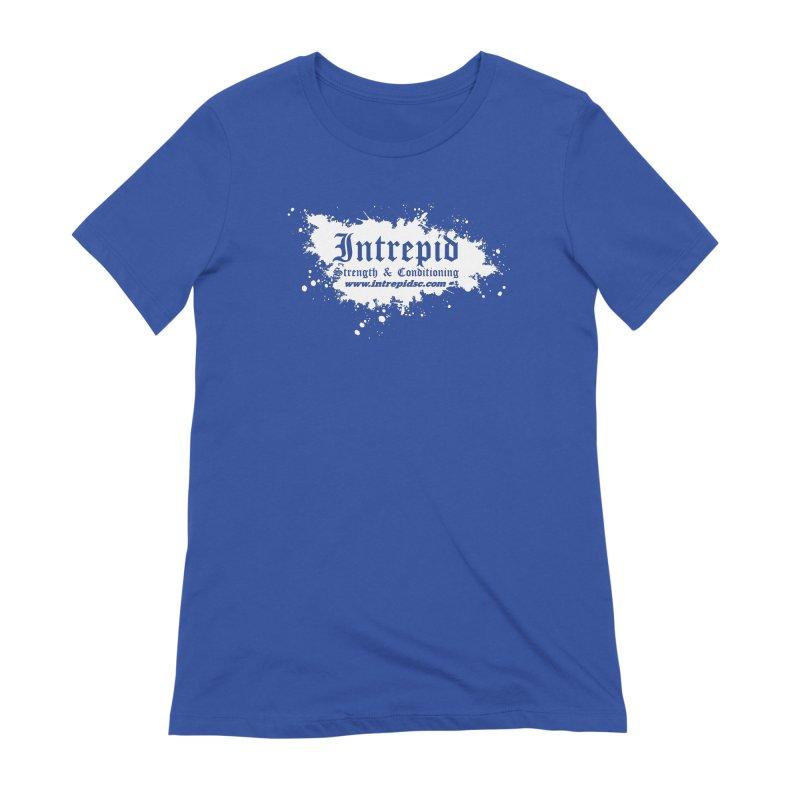 Splatter Women's Extra Soft T-Shirt by Intrepid CF Warwick's Artist Shop