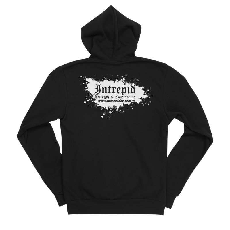 Splatter Men's Sponge Fleece Zip-Up Hoody by intrepidcfwarwick's Artist Shop
