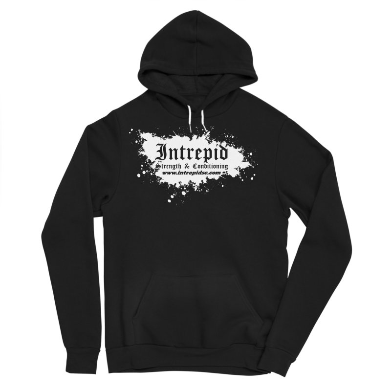Splatter Men's Sponge Fleece Pullover Hoody by Intrepid CF Warwick's Artist Shop