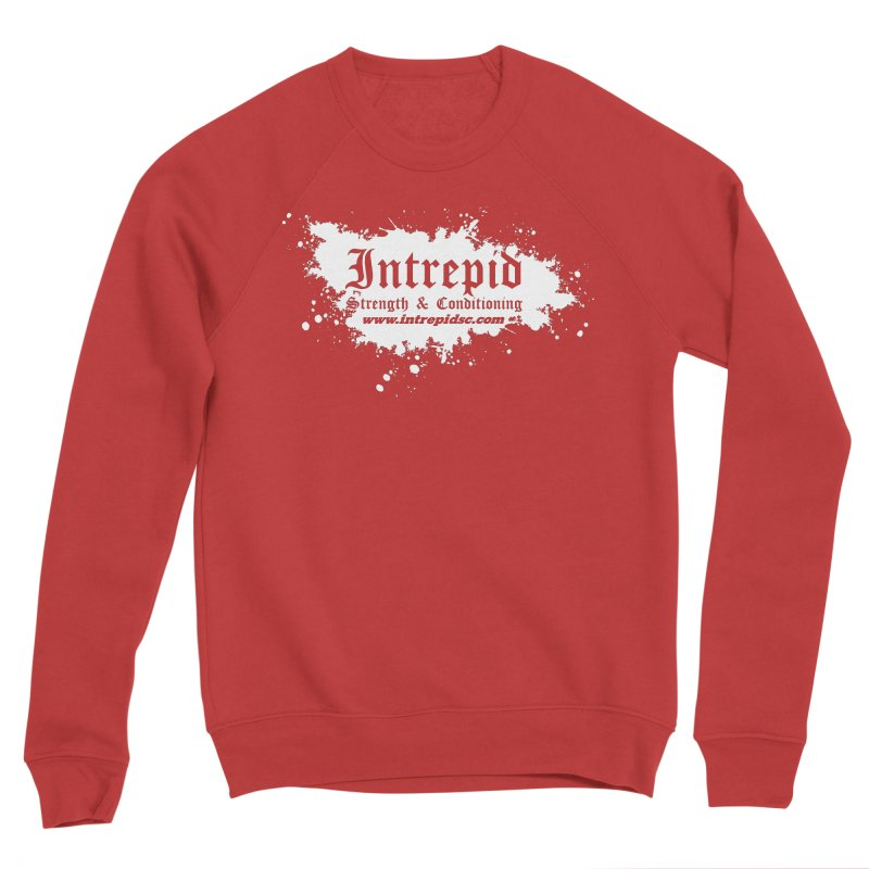 Splatter Men's Sponge Fleece Sweatshirt by Intrepid CF Warwick's Artist Shop