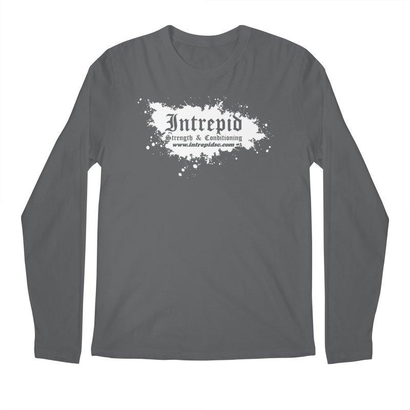 Splatter Men's Regular Longsleeve T-Shirt by Intrepid CF Warwick's Artist Shop
