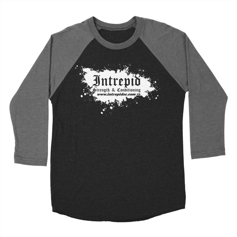 Splatter Women's Baseball Triblend Longsleeve T-Shirt by Intrepid CF Warwick's Artist Shop