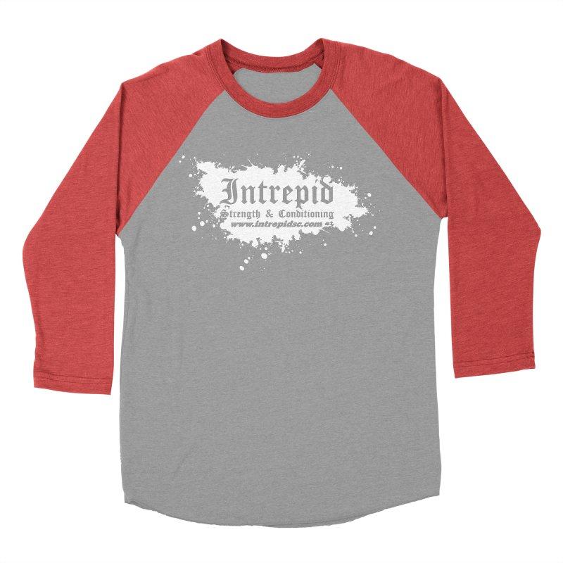 Splatter Men's Baseball Triblend Longsleeve T-Shirt by Intrepid CF Warwick's Artist Shop
