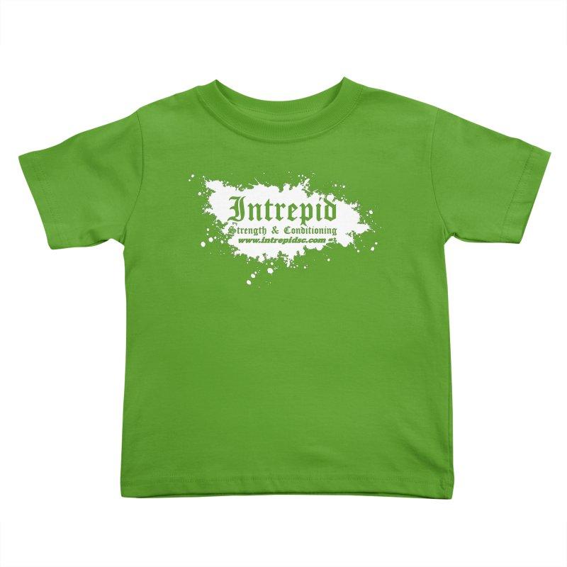 Splatter Kids Toddler T-Shirt by intrepidcfwarwick's Artist Shop