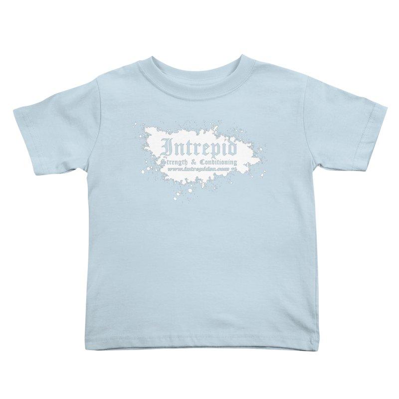 Splatter Kids Toddler T-Shirt by Intrepid CF Warwick's Artist Shop