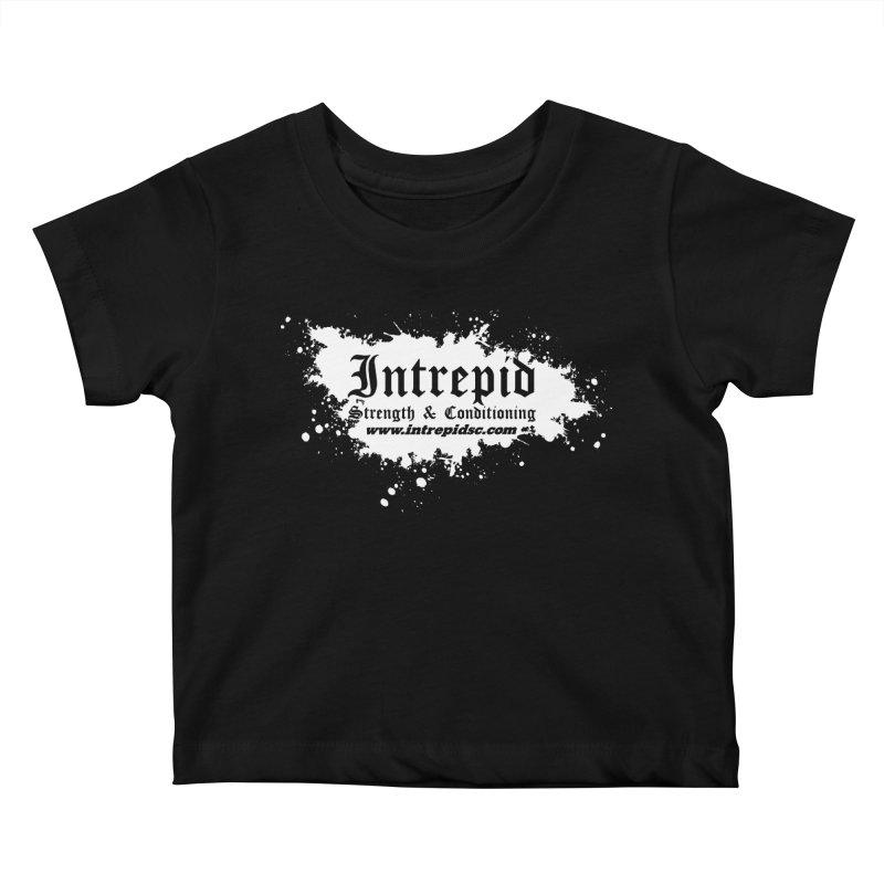 Splatter Kids Baby T-Shirt by Intrepid CF Warwick's Artist Shop