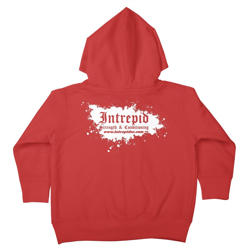Splatter Kids Toddler Zip-Up Hoody by Intrepid CF Warwick's Artist Shop