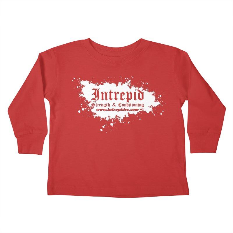 Splatter Kids Toddler Longsleeve T-Shirt by intrepidcfwarwick's Artist Shop