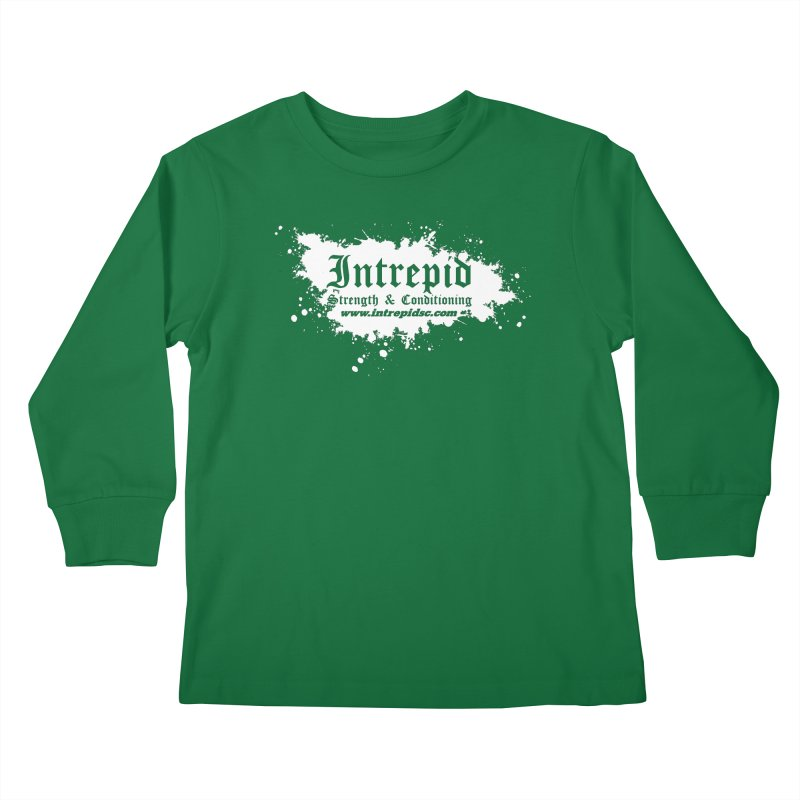 Splatter Kids Longsleeve T-Shirt by Intrepid CF Warwick's Artist Shop