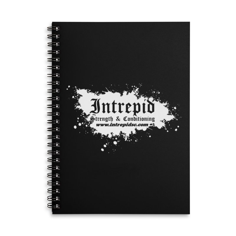 Splatter Accessories Lined Spiral Notebook by Intrepid CF Warwick's Artist Shop