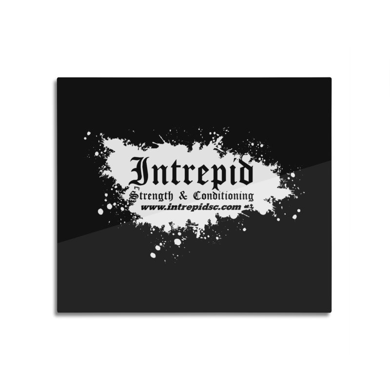 Splatter Home Mounted Aluminum Print by Intrepid CF Warwick's Artist Shop