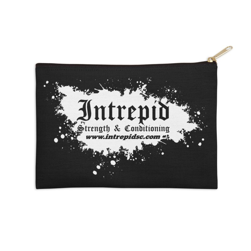 Splatter Accessories Zip Pouch by Intrepid CF Warwick's Artist Shop